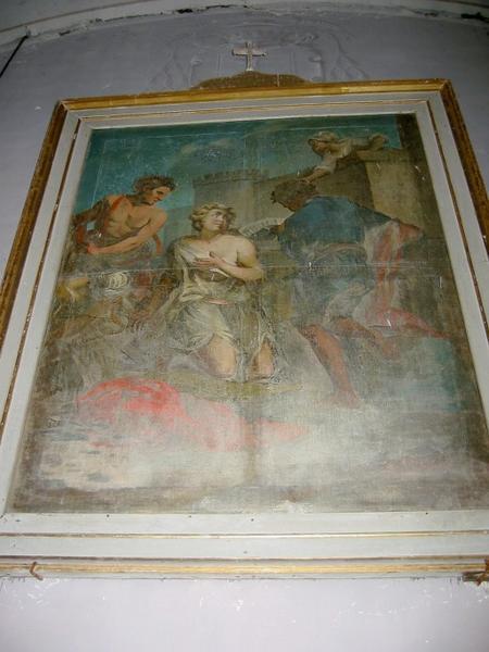 Tableau : Saint Symphorien (?)