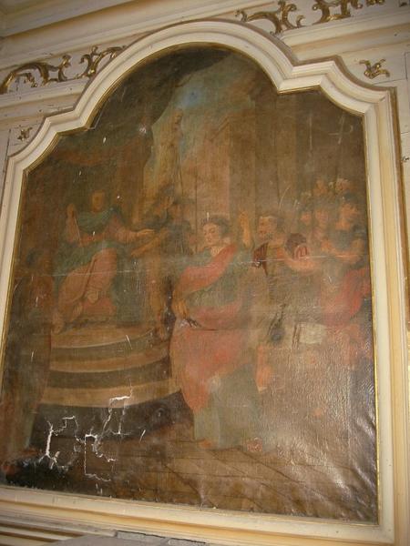 Tableau : Scène de la vie de saint Parres