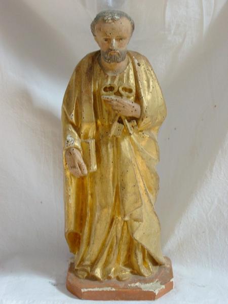 Statuette de bâton de procession : Saint Pierre