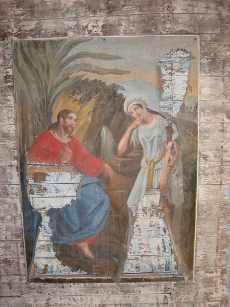 Tableau : Christ et Marie-Madeleine