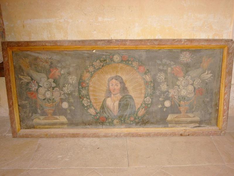 Tableau : Saint (déposé à Champignol-lez-Mondeville)