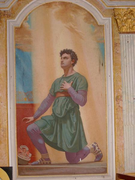 Tableau : Saint Genêt