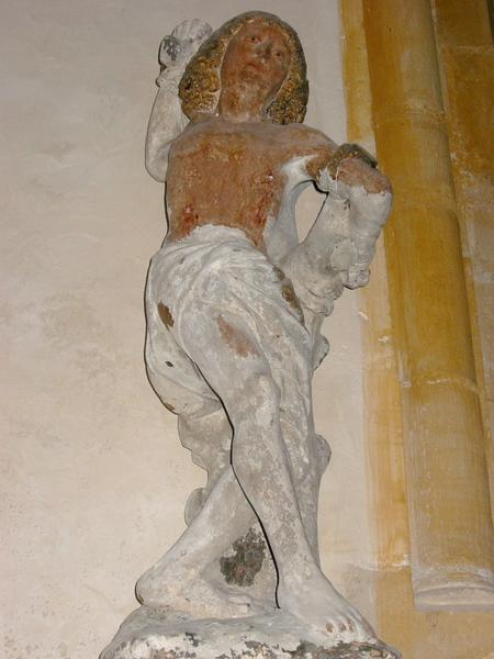 Statue : Saint Sébastien