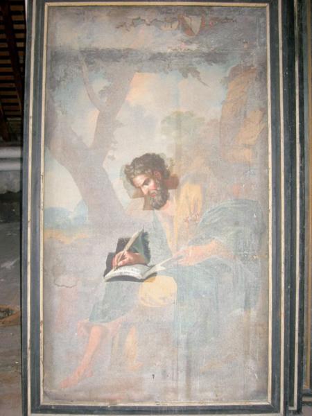 4 tableaux : les Évangélistes