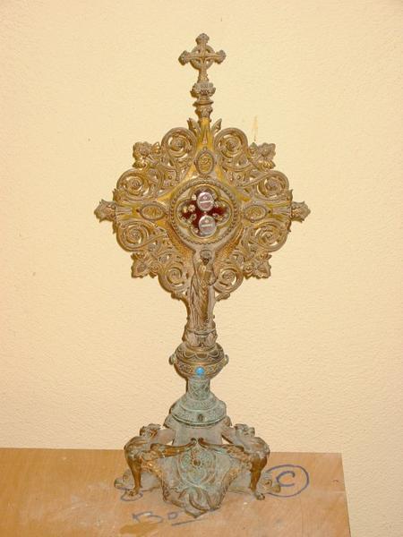 3 reliquaires des saints Bernard, Eugène, Pierre et Sébastien
