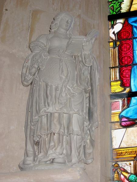 Statue : Sainte Syre (?)