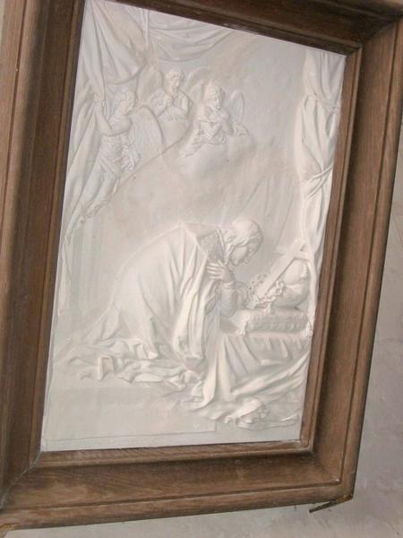 Bas-relief : Saint Louis