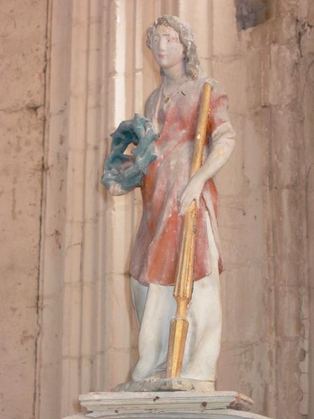 Statue : Ange portant les instruments de la Passion
