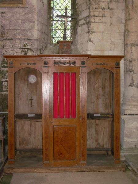 Confessionnal, croix