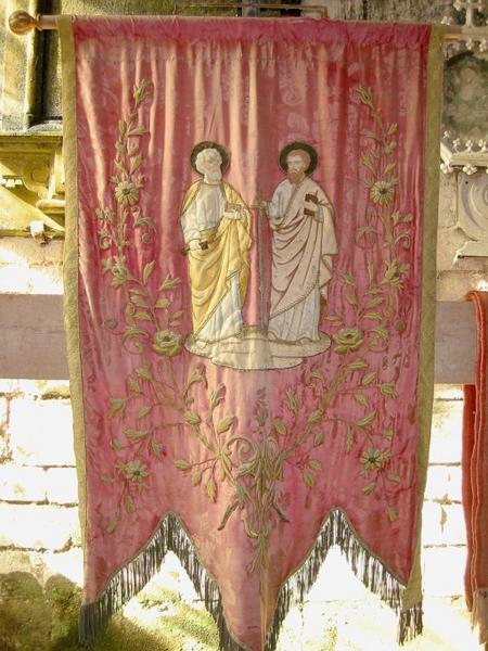 Bannière de procession : Saint Pierre et saint Paul