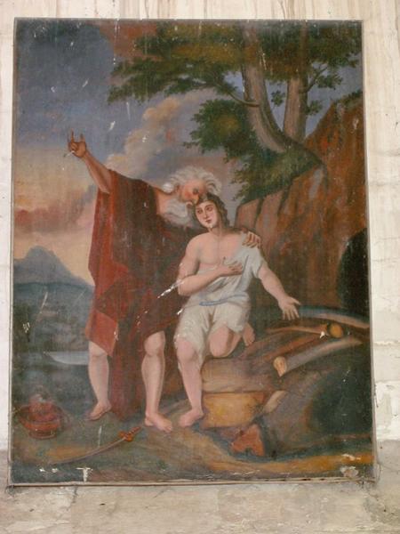Tableau : Sacrifice d'Abraham