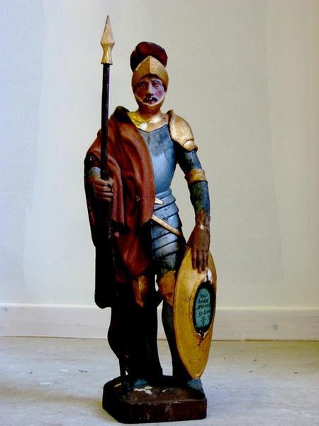 Statuette-reliquaire : Saint Julien (déposée en mairie)