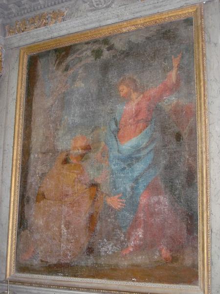 Tableau : Transmission des clefs à saint Pierre
