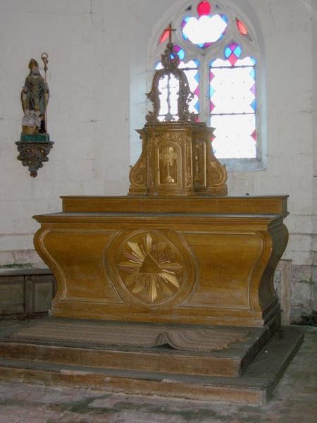 Tabernacle, autel