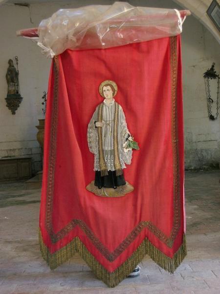 Bannière de procession : Saint Félix (?)