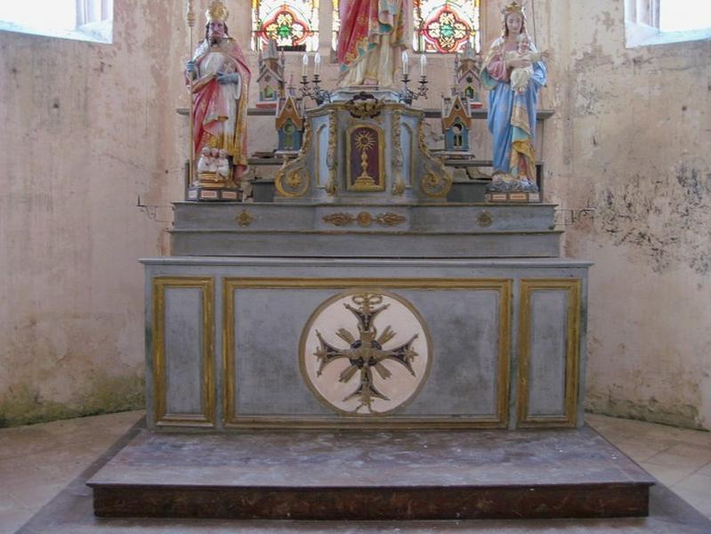 Autel, tabernacle