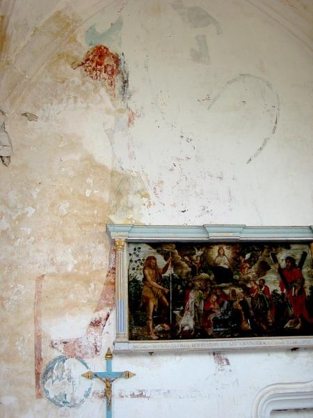 Peinture monumentale : Saints personnages
