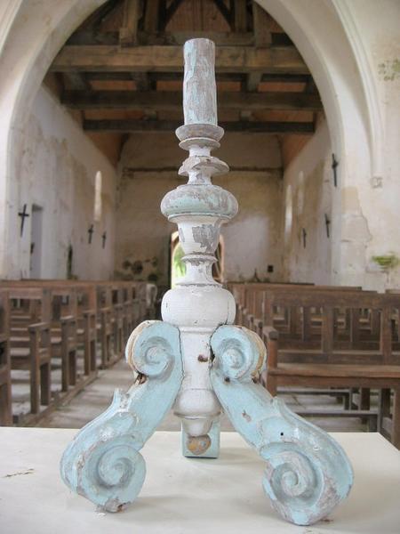 Pied de chandelier