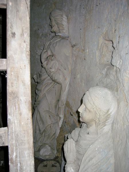 Groupe sculpté : Apparition à Marie-Madeleine