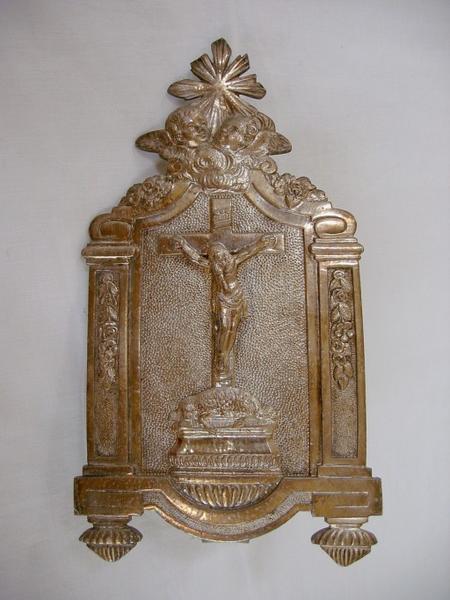 Baiser de paix : Crucifixion