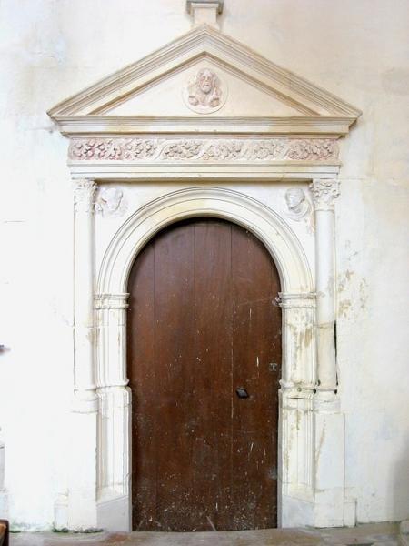 Porte de sacristie