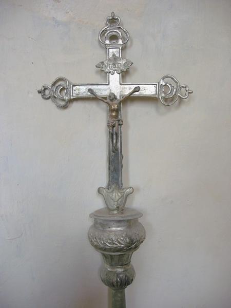 Croix de procession : Crucifixion