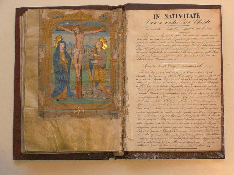 Évangéliaire (dépôt de l'Hôtel-Dieu au musée des Beaux-Arts)