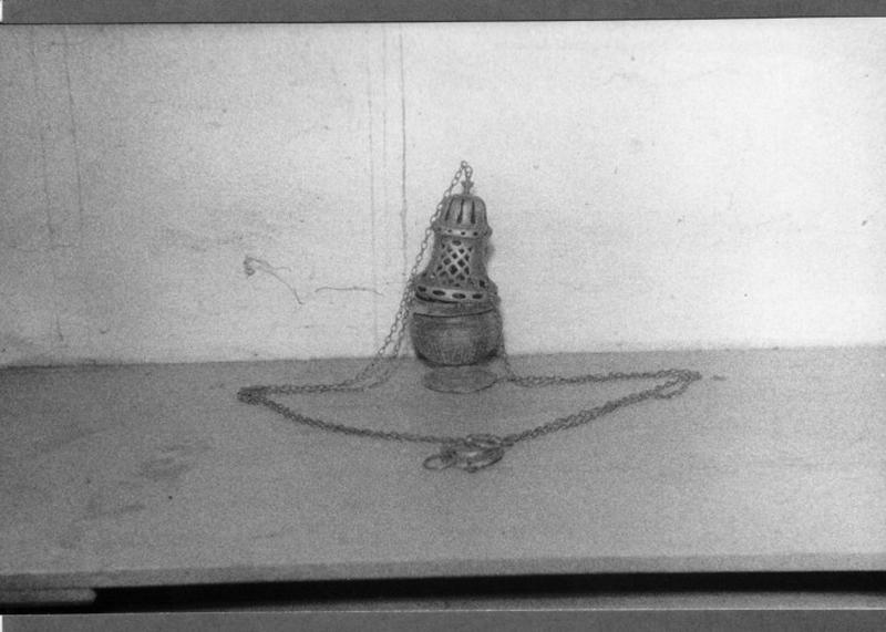 Navette à encens (disparue)