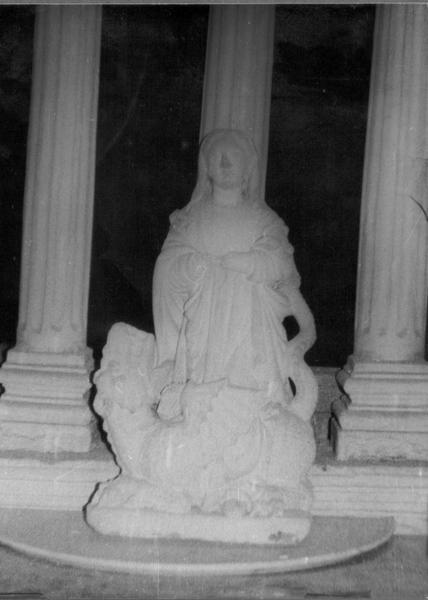 Statue : Sainte Marguerite (disparue)