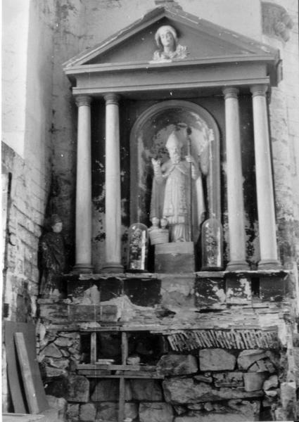 Autel de la chapelle Saint-Nicolas (détruit)