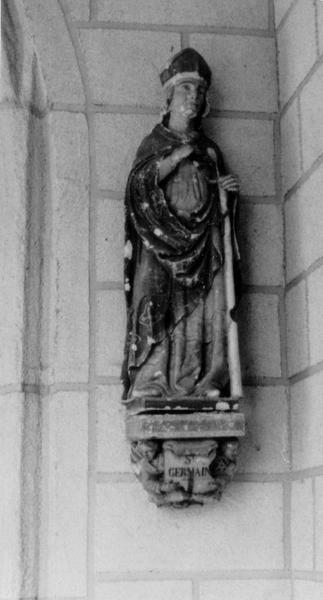Statue : Saint Germain (disparue)