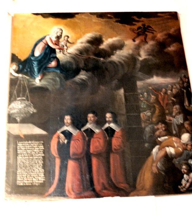 tableau ex-voto de la ville de Limoux pour la cessation de la peste en 1631