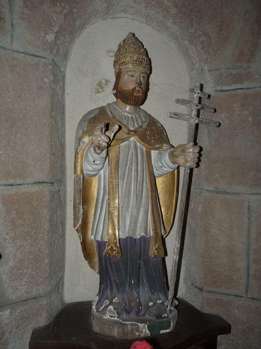 statue : Saint Fabien en pape