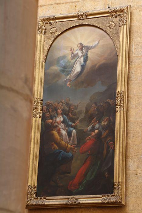 Tableau et son cadre : l'Ascension