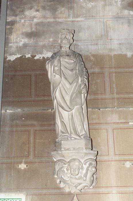 Statue et sa console : Saint Bénigne
