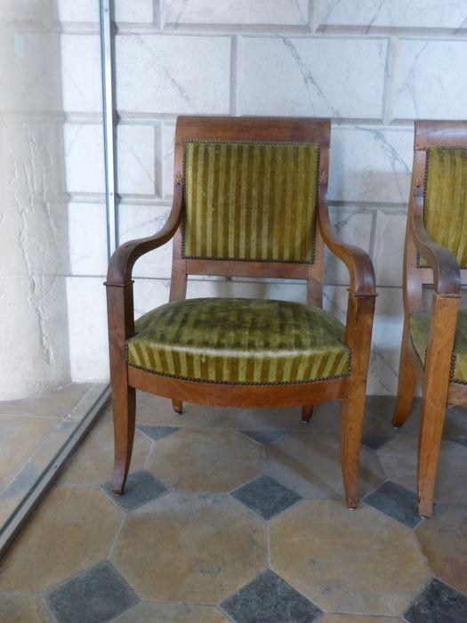 Six fauteuils