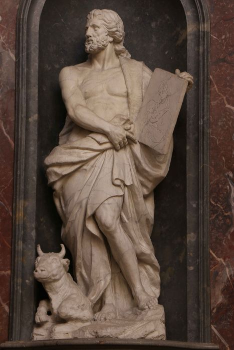 4 statues : Les Quatre évangélistes