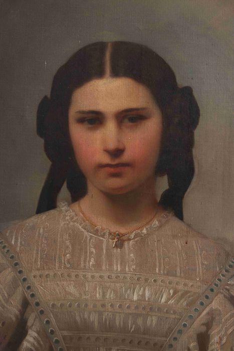 3 tableaux : Portraits de monsieur, madame et mademoiselle Gauffre