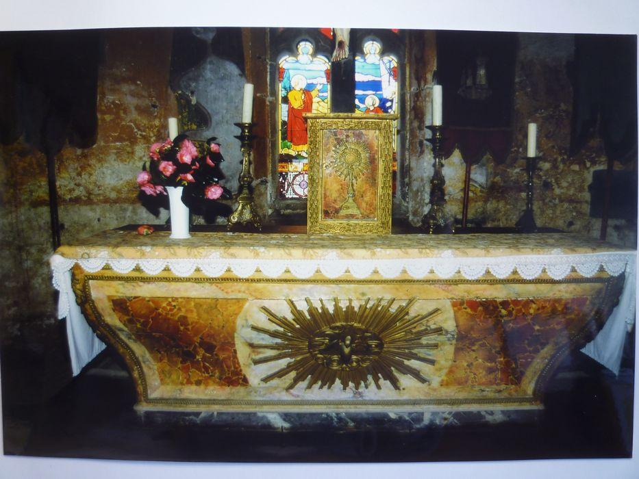 Autel ; tabernacle, vue générale