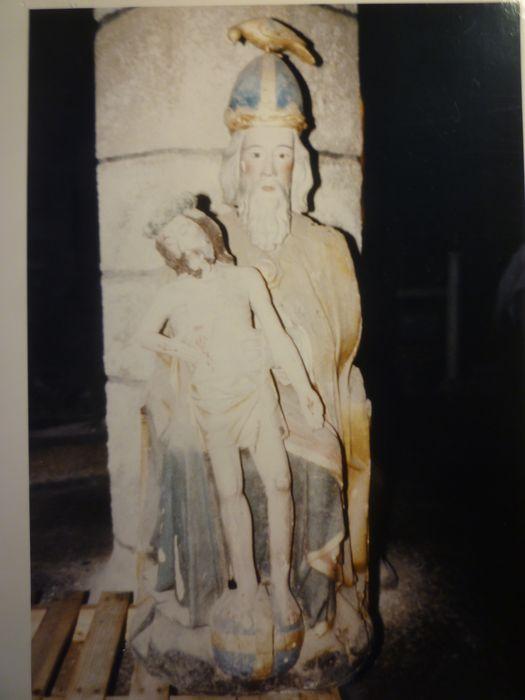 Groupe sculpté : Sainte Trinité