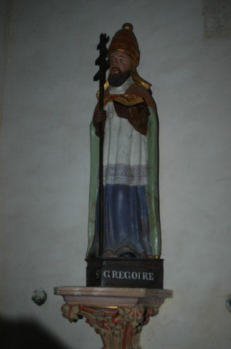 statue : Saint Grégoire, vue générale