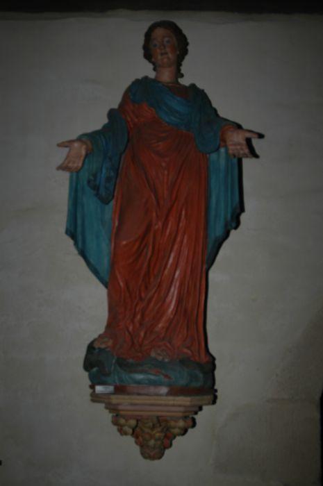 statue : Sainte Femme, vue générale