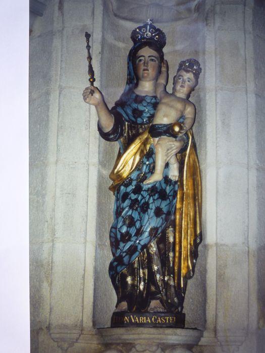 Statue : Vierge à l'Enfant dite Notre Dame de Châteaulin