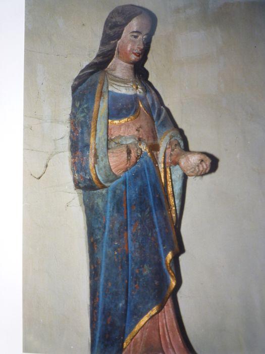 Statue dite de Sainte Barbe