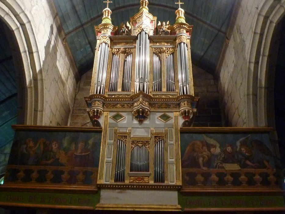 Orgue de tribune: buffet d'orgue