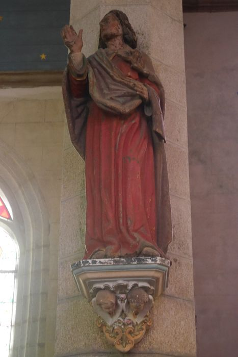 Statue : Saint Jean au Calvaire