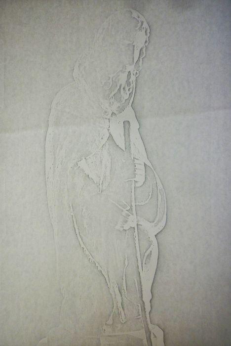 Statue : Un Pèlerin