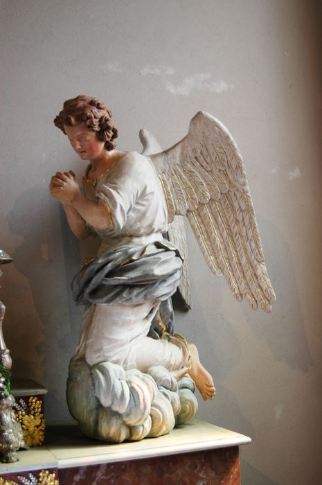 Statues : Deux anges adorateurs
