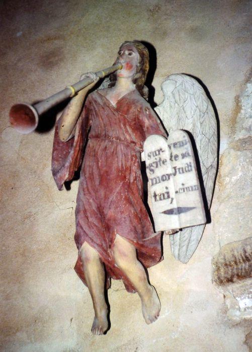 statue : Ange à la trompette