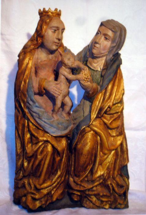 Groupe trinitaire : Sainte Anne, la Vierge à l'Enfant